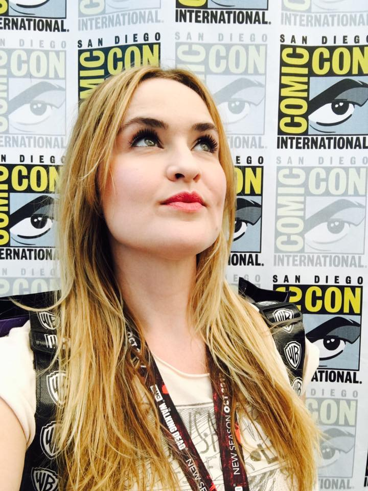 Annie Elliott at Comic-Con San Diego, 2017